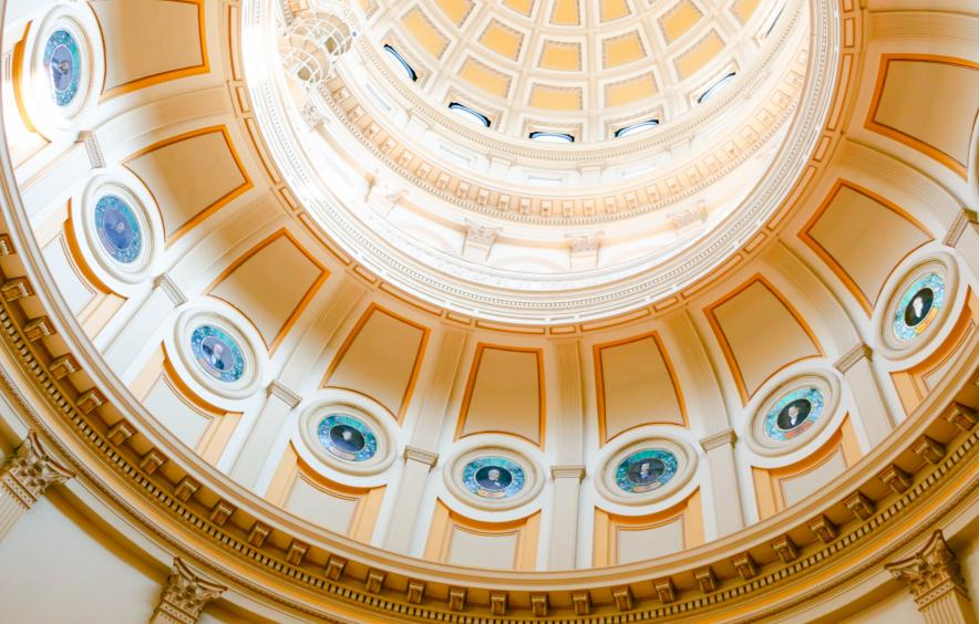 Colorado State Capitol Dome, credit Eric Muhr courtesy of unsplashed