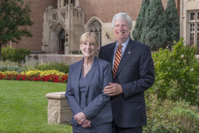 Doug and Mary Scrivner