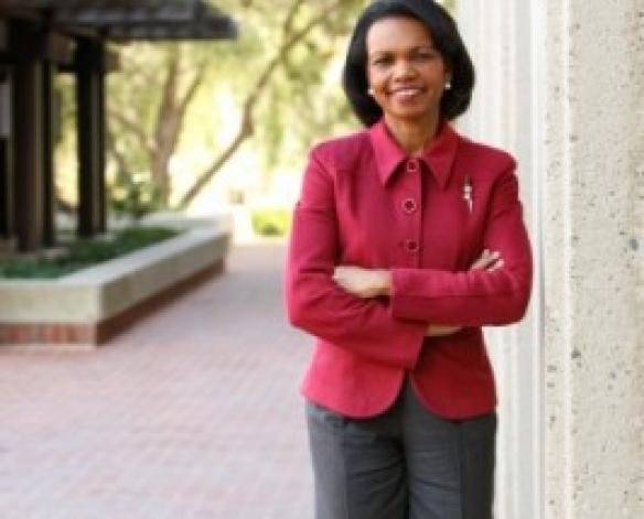 Former US Secretary of State and DU alumna Condoleezza Rice